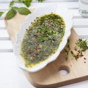Örtmarinad med Salvia, Timjan och Bladpersilja