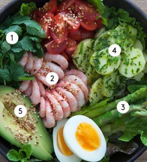 5 steg till den perfekta salladen
