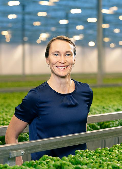 Kristin Orrestig,Varuförsörjningschef