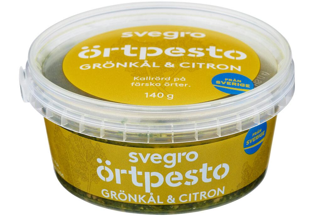 Örtpesto Produktbild Grönkål Citron