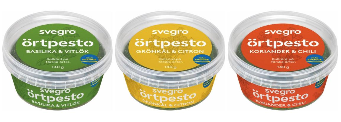 Svegro Örtpesto – Sveriges godaste pesto nu ursprungsmärkt med Från Sverige