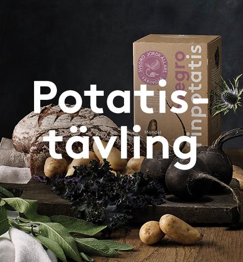 Potatistävling: vinn en fritös!