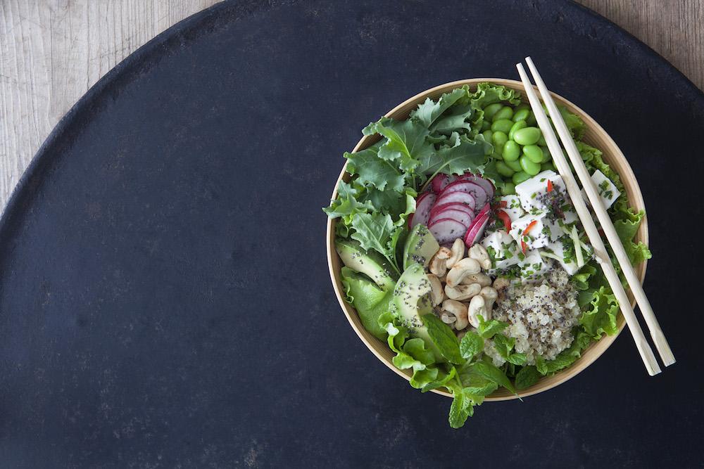 Tofupoké bowl