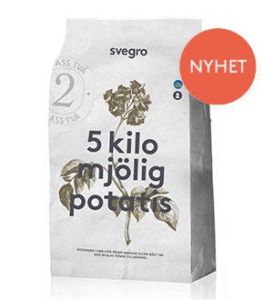 Svegro Mjölig potatis 5kg