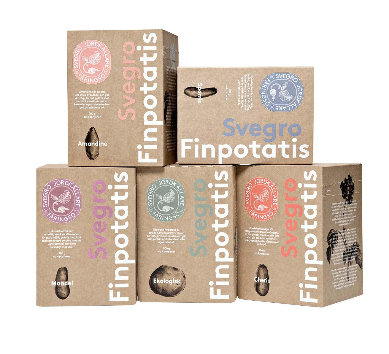 Svegro Finpotatis Förpackning
