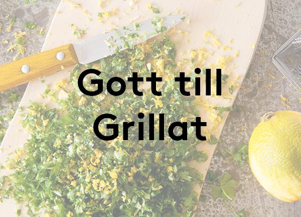 Svegro Receptsamling: Gott till Grillat