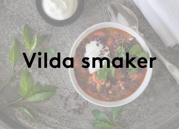 Svegro Receptsamling: Vilda Smaker