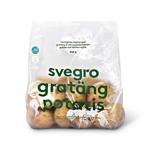 Gratängpotatis, matpotatis från Svegro Jordkällare