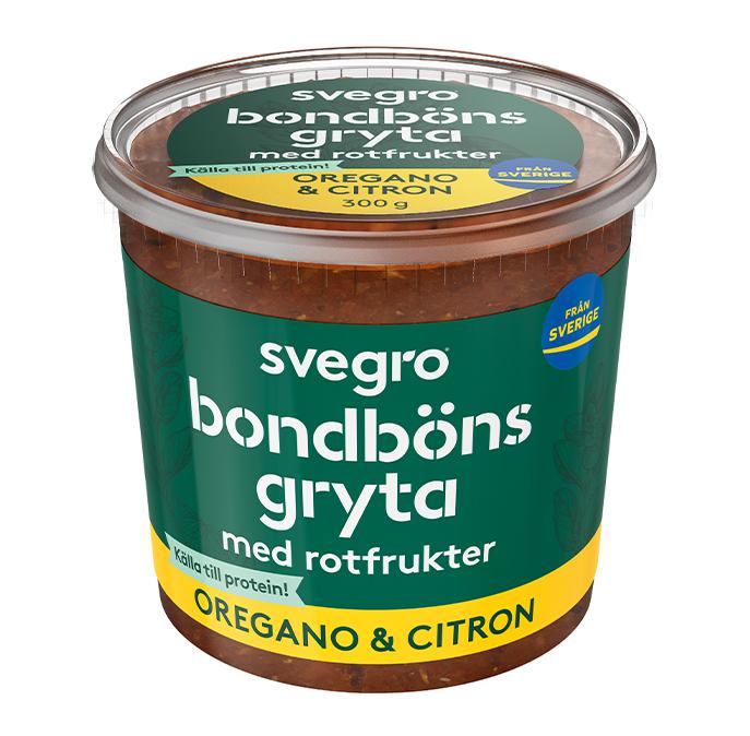 Bondbönsgryta Oregano & Citron