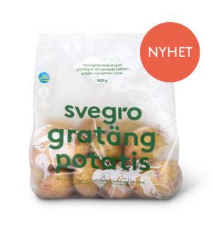 Svegro Gratängpotatis 900g NYHET