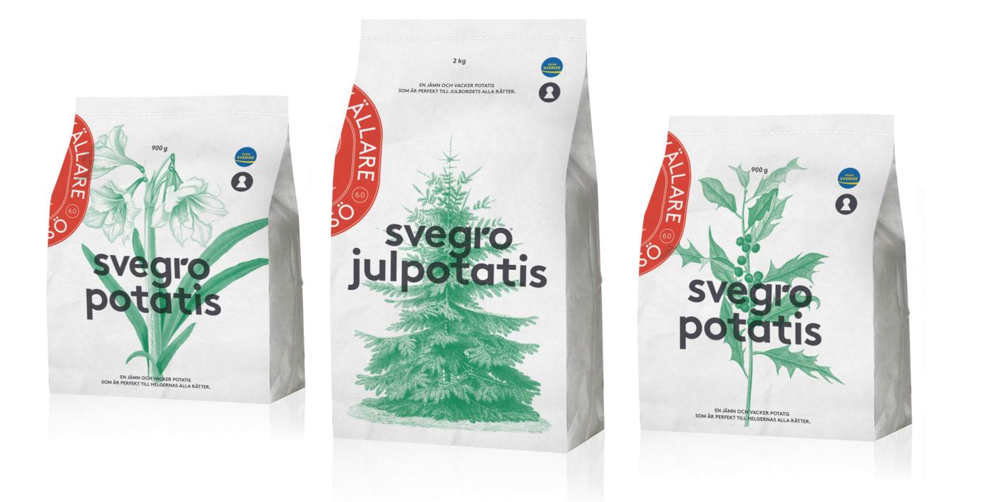 Nyhet Svegro Jordkällare Julpotatis