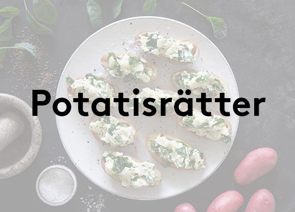 Svegro Receptsamling: Potatisrätter