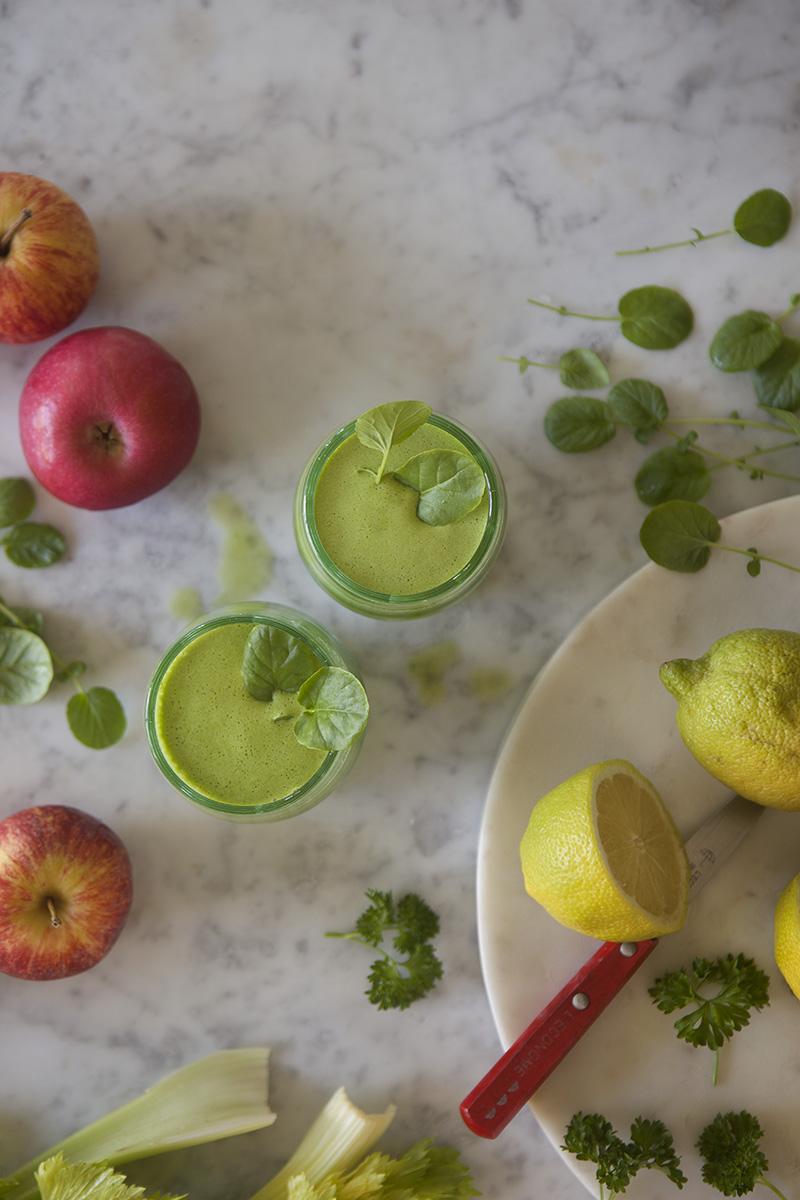 Äpple- och Krassejuice