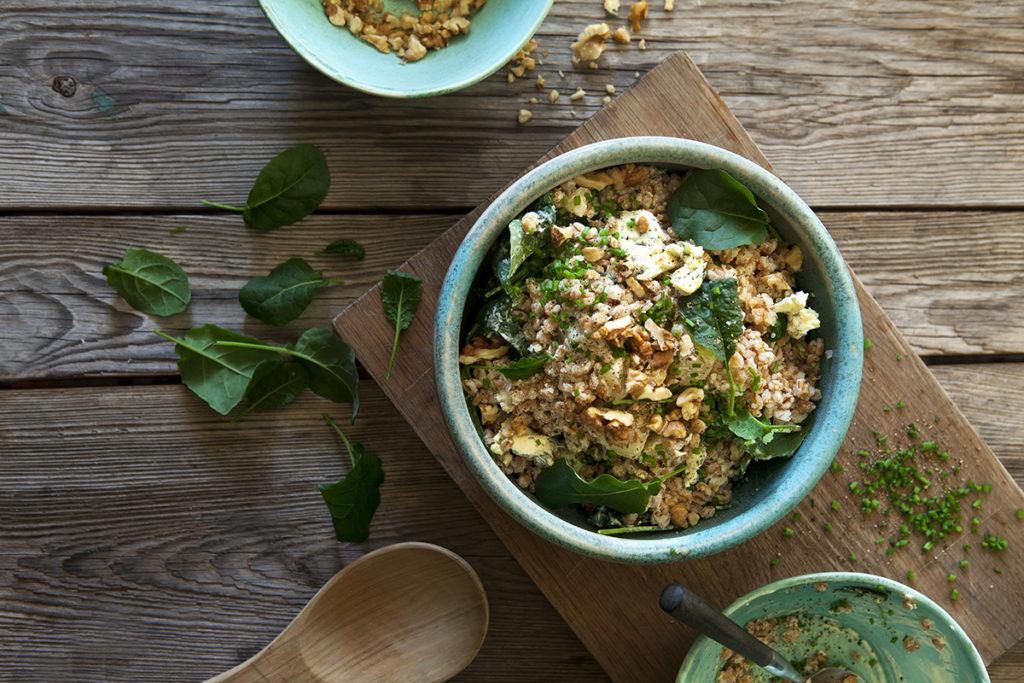 Matvete med Svartkål, rotselleri och grönmögelost